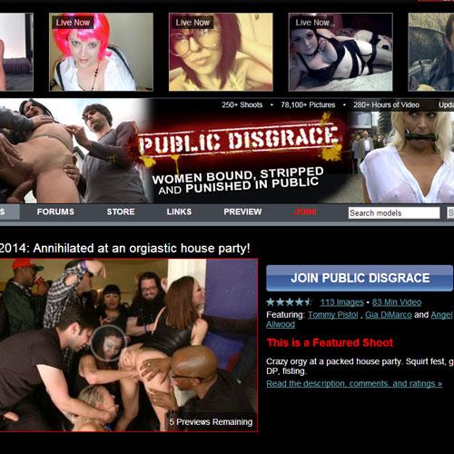 public-disgrace-review
